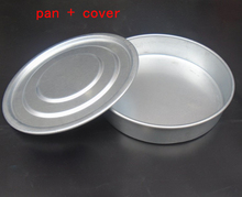 Stainless steel sieve Suit  pan+ cover Sieve the flour Filter net cover Separating sieve plate Laboratory sample sieve lid