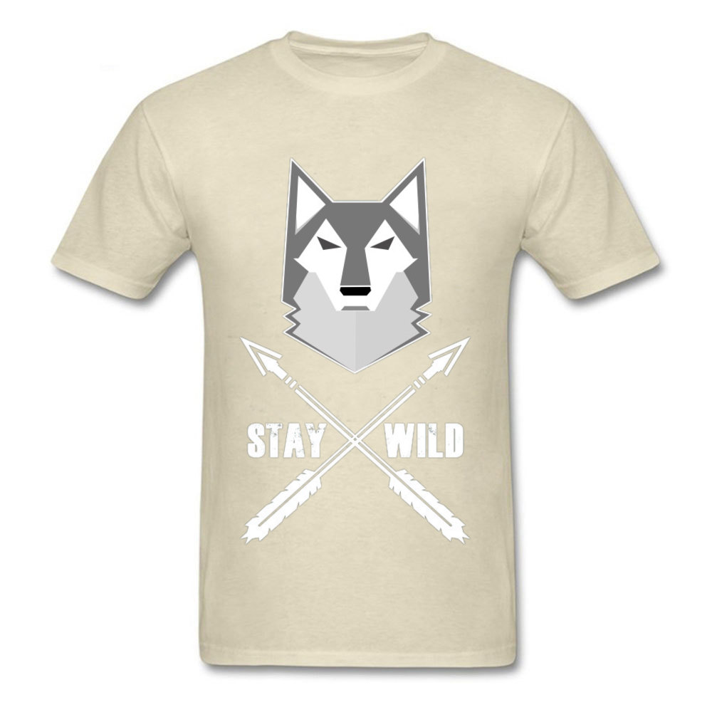 0314WD032 100% Cotton Tops & Tees for Men Casual T-shirts Fashionable Prevailing Crewneck Tops & Tees Short Sleeve 0314WD032 beige