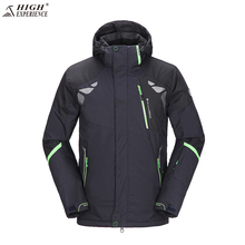 High Experience 2017 Ski Jacket Men Brand Snowboard Winter Mountain Skiing Clothes Mens Snow Jackets Sport Camp Coat Waterproof(China)