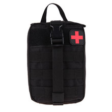 Buy Tactical Medical First Aid Kit Bag Medical EMT Utility Medicine Carrier Pouch Outdoor Camping Hunting Traveling Emergency Bag for $9.31 in AliExpress store