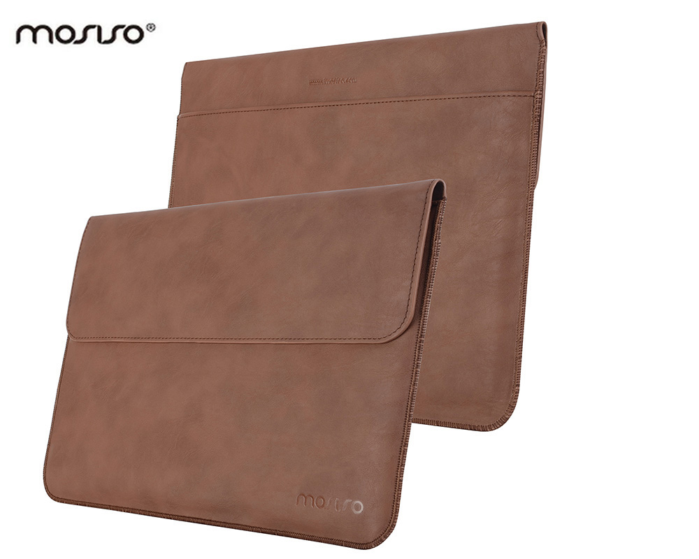 MOSISO Luxury Premium Black Cover Case For Microsoft Pro 4&amp;Pro 3 PU Leather Laptop Notebook Sleeve Cover Bag With Stand Function<br><br>Aliexpress
