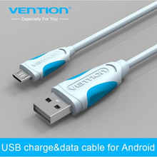 Vention 1m 1.5m 2m 3m black Micro USB Cable 2.0 Data sync Charger cable Mobile Phone Cables For Samsung galaxy S4 S3 HTC