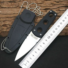 New Survival Knife COLD STEEL Fixed 440C Steel Blade Knife G10 Handle Huntting Tactical Knives Camping Outdoor EDC Tools y22