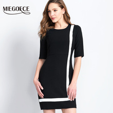 2017 MIEGOFCE New Autumn Ladies' Dress Women Autumn Dresses with Round Collar Three-quarter Length Sleeve Quality Autumn Tunics(China)