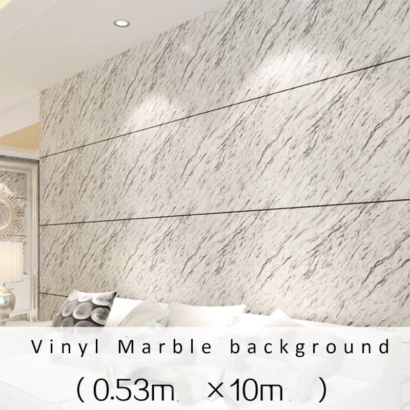 Vinyl Stone Gray and Black Marble Wallapper Modern papel de parede decor for living room  para quarto em 3d<br>