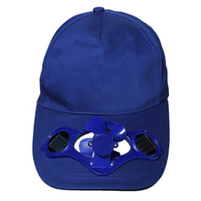 2017 Novelty Sun Solar Power Hat Cap with Cooling Fan for Outdoor Golf Mountain Climbing Baseball Hats