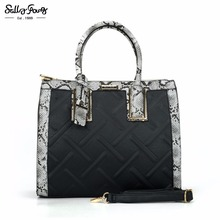 Sally Young International Brand Designer Diamond Lattice Fashion Women Bags Classic Zipper&Hasp Lady Handbags 5 Colors SY2119(China)