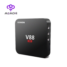 10PCS MEMOBOX V88 Android 6.0 Smart TV Box Rockchip RK3229 1GB 8GB Quad Core WIFI HDMI 2.0 HEVC 4K*2K HD 3D Media Player IPTV