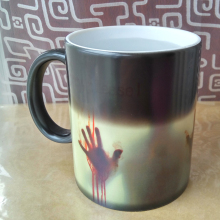 New Arrive the walking dead mercy please Mug changing color cold hot Sensitive Ceramic coffee mugs cup best gift
