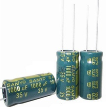 capacitor 35V 1000UF 1000UF 35V 1000uf35v 35v1000uf  power supply special high-frequency crystal 20pcs/pack  Size:10*20