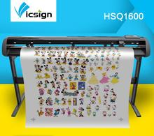 "Vicsign 64"" HSQ1600 Papers Pen Vinyl Cutter Plotters Large Format Coreldraw Output Banner Garments Pattern Cutting Plotters"