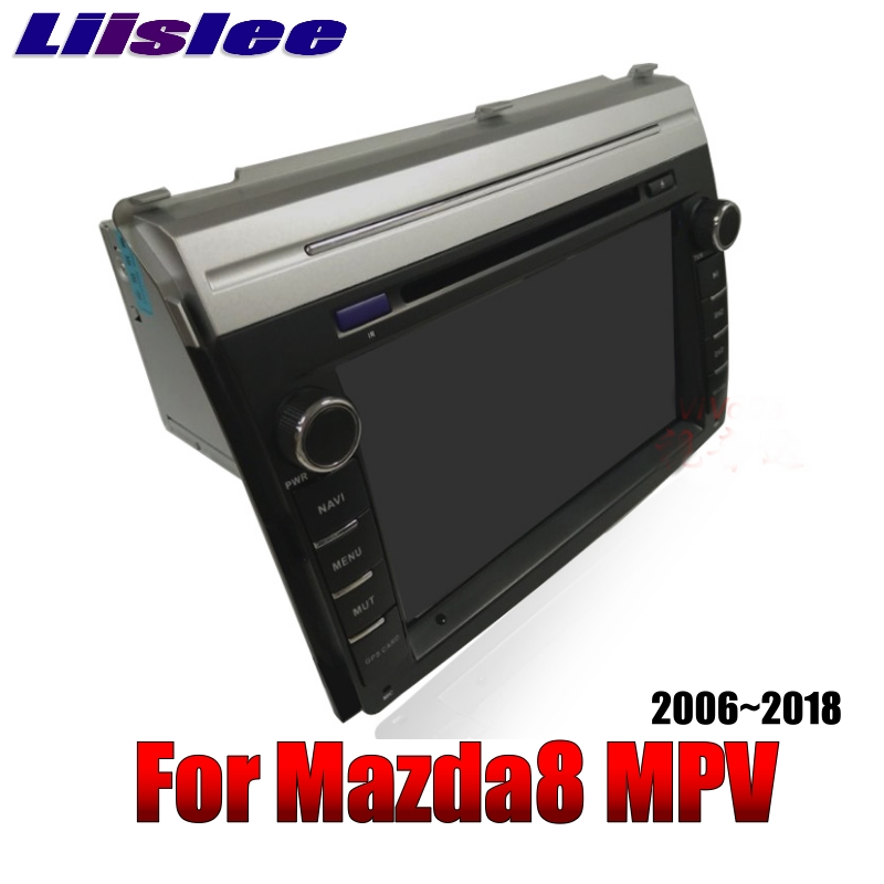 For Mazda MPV LY For Mazda8 2006~2018 LiisLee Car Multimedia TV DVD GPS Audio WiFi Radio Stereo Android 8\' inch Navigation NAVI 3