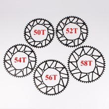 Ultralight AL 7075 T6 50T/52T/54T/56T/58T 130BCD MTB Folding Bike Chainring Cycle Bike Crankset Plate Circle Bicycle Chain Ring