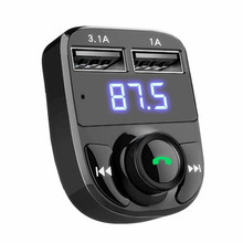 2017 MP3 Audio Player Digital Handsfree Bluetooth Wireless FM Transmitter Modulator Car Kit LCD MP3 Player TF Card USB Charger