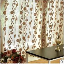 2016 New elegance Korean window sheer curtain for kitchen living room the bedroom finished blinds tulle for windows fabric