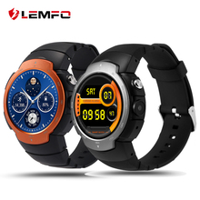 LEMFO LEM3 3G wifi Smart Watch phone Android 5.1 OS MTK6580 Quad Core smartwatch phone Support google map Heart Rate Monitoring