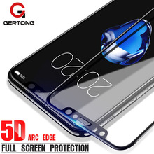 Buy GerTong 5D Curved Edge Premium Full Cover Screen Protector Glass iPhone X 10 8 Plus 6s 7 6 Tempered Glass Protection Film for $2.49 in AliExpress store