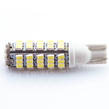 T10 68LED 1206 68 SMD LED W5W Car 68smd 3020 DC12V 194 927 168 Side Wedge Lamp Marker Bulb License plate lights Super Bright(China)