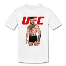 Best Conor Mcgregor T-shirt For Boys MMA Featherweitht Fighter Funny Tshirts For Kids
