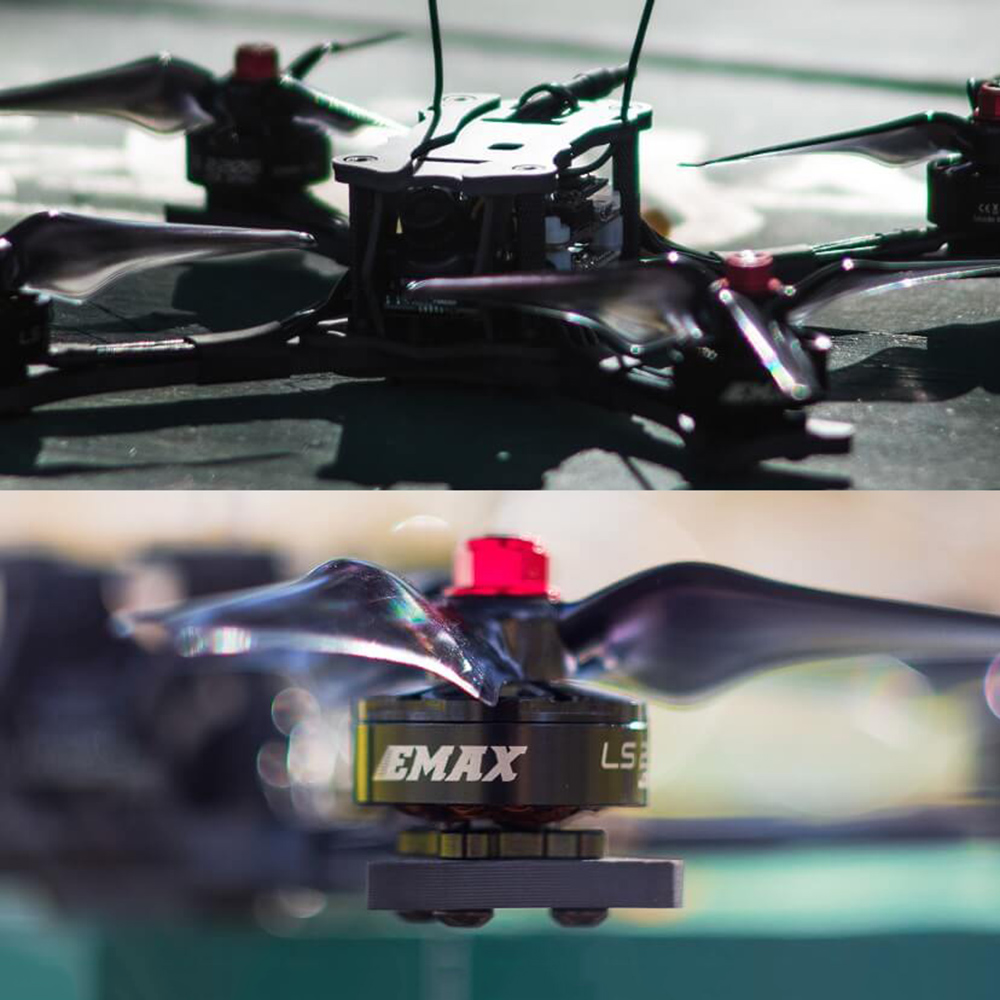 Emax Racing Drone Hawk 5 5.8G 600TVL F4 FC 210mm Brushless FPV Racing RC Quadcopter w Frsky Receiver BNF PNP Version RC Drone 10