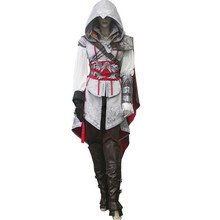 womens ladies assassins creed 2 II Ezio costume cosplay for women Custom Made Uniform Suit Halloween female clothes
