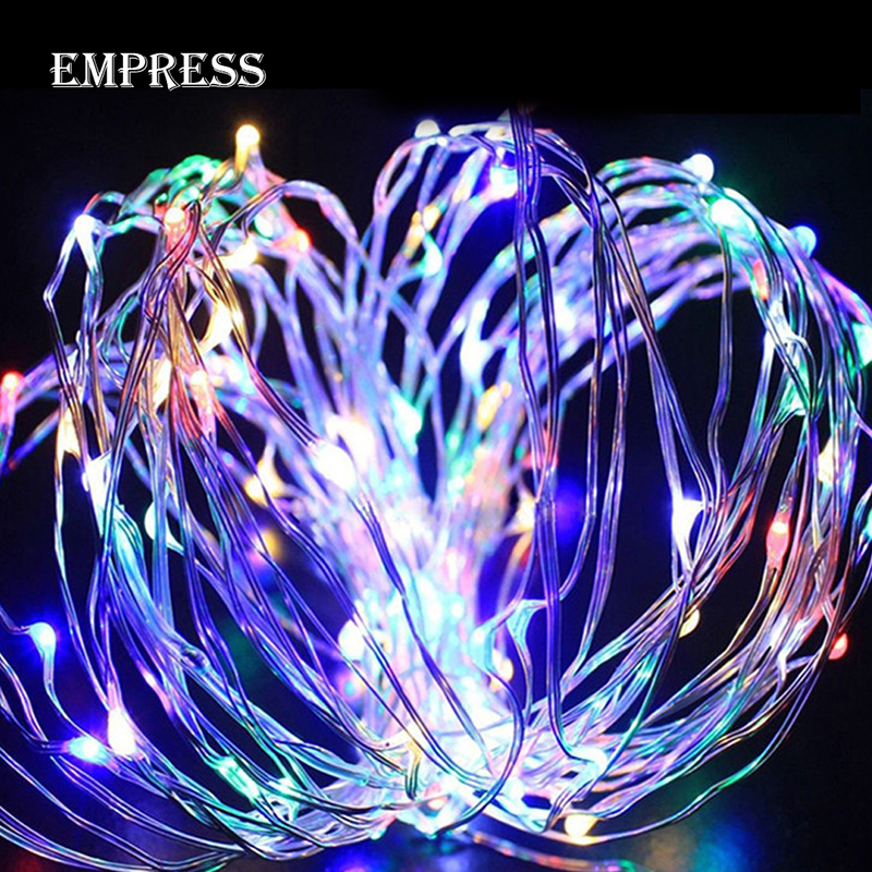 10M LED String Lights Waterproof Light String Christmas Outdoor Lighting Copper Wire Wedding Party LED Fairy Decoration Lights