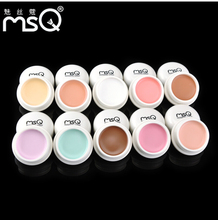 MSQ New 12 Colors Face Concealer Makeup Primer Cover Pore Wrinkle Foundation Base Lasting Oil Control 100% Amazing Effect