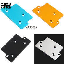 RC car AX30485 Aluminum Alloy Servo Plate For AXIAL SCX10 1/10 Scale Models RC Cars Rock Crawler Jeep Wrangler AX30485(China)
