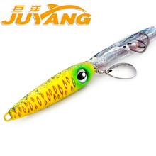 160g JY Lead Metal Sinker Jigging Lure Inchiku Slow Pitch Sinking Jig Deep Sea Artificial Fishing Bait Saltwater Ocean Trolling