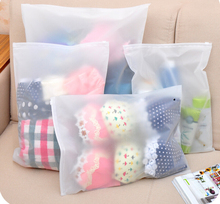 8Pcs Different Size Storage Bags Household Travel Underwear Lightweight Organizer Container Waterproof Translucent Bag 4 Sizes(China)