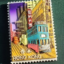 Memory of Hong Kong, Tourist Travel Souvenir 3D Resin Decorative Fridge Magnet Craft GIFT IDEA
