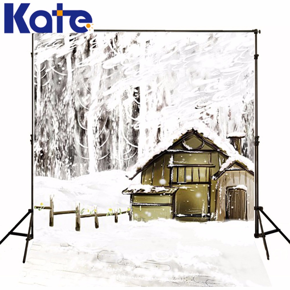 600Cm*300Cm Backgrounds Dazzling White Snow Beautiful World Photography Backdrops Photo Lk 1235<br>