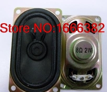 Free shipping 6PCS LCD Monitor / TV Speaker 4070 8 Europe 2W 2W8R 8R 2W 40 * 70MM Thick 16.5MM