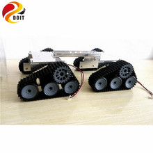 Official DOIT Super BIG Tank Car Chassis Crawler Intelligent DIY Robot Development Kit Tractor Toy