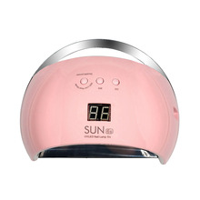 New Arrival SUN6s 48W Nail Lamp Machine UV Led Nail Dryer Machine Lamp for Nails Gel Polish Low Heat(China)