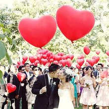 36Inch 90cm Jumbo Heart Shape Lover Wedding Party Pink/Gold/Red/White Balloon Giant Heart Wedding Anniversary Party Balloons