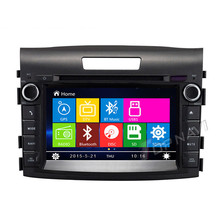 New 7 inch Car Radio DVD For Honda CRV 2012- with GPS Navigation Multimedia System Bluetooth Map