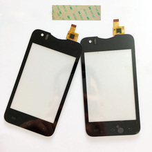 3.5'' Touch Screen For Explay A350 A350TV  Touch Screen For Star TV A350 Capacitive Sensor Digitizer Panel+3M Glue