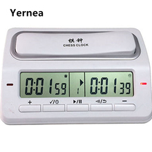 Electronic Digital Chess Clock Game Timer Master Tournament 39 Timing Modes For Chess I-GO Chinese Chess Game Set Timer Yernea(China)