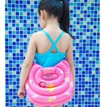 Happy Swim Swimming rings for adult children baby Inflatable water toy Pool float seat Arm floats Circle Free shipping(China)