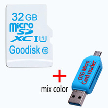 Micro SD Card 128GB 64GB SDXC Class 10 Memory Card SDHC 16GB 32GB TF/microsd SD Micro Card with free gift card reader(China)