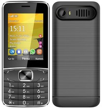 H-Mobile T3 2.8 inch screen Cheap feature phone Camera FM Dual SIM card big speaker battery with Russian keyboard optional