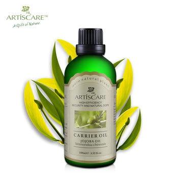 Hidratar la piel las arrugas Se Desvanecen 100% Natural Jojoba aceite Base 100 ml para el cuidado del cuerpo aceite de masaje Mantener hidratada la piel SPA porta aceite