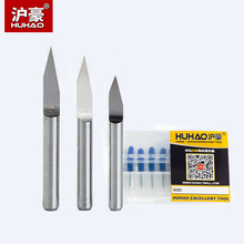 Buy Huhao 10pcs/lot Shank 3.175mm CNC Router Bit Degree 10- 90 PCB Engraving Bits End Mill Carbide 0.1-2mm Milling Cutter for $4.20 in AliExpress store