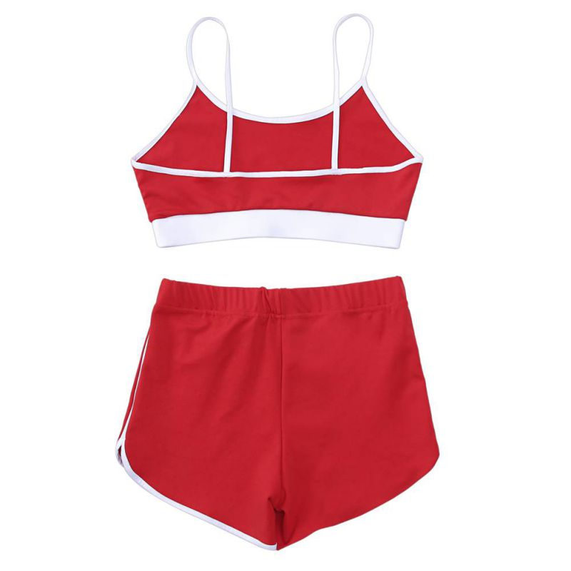 Sport Suit Tracksuit Bra+Short Sportswear 25
