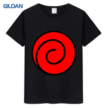 Naruto Cartoon New 2017 Branded Mens T-Shirt Hip-Tope Buy T Shirt Mens Black And White Striped Short Sleeve Tee Shirt(China)