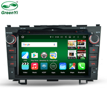 GreenYi 2 Din Octa Core RAM 2GB Android 6.0 Tablet PC Car DVD Player For Honda CR-V CRV 2006-2011 With GPS 4G WiFi Stereo Radio