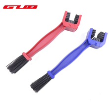 Bicycle Chain Cleaning Tool Bike Chain Brush 2 Color Cycling Motorcycle Nylon ABS Gear Grunge Brush Cleaner Bike Chain Cleaner