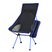 Lightweight Fishing Chair Professional Folding Camping Chair Portable Lengthen Fishing Chair For Picnic BBQ Beach Party(China)