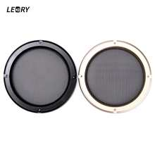 """LEORY 1pc 6.5"""" inch Loudspeakers Protective Cover Nets Car Speakers Power Amplifier Decorative Circle Unit Net Sound Box Grille"""